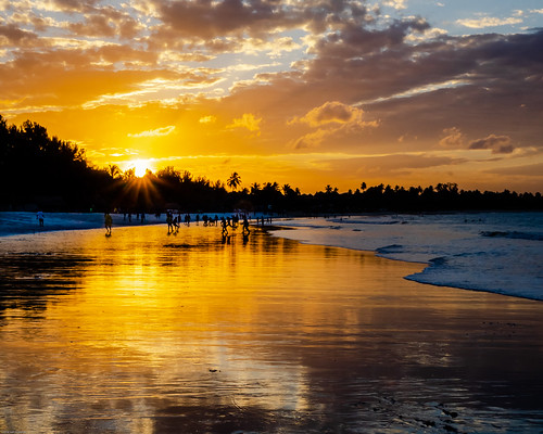 beach june sunset nature indianocean daressalam tanzania paysage mer