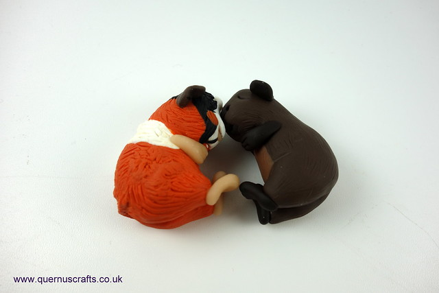 Two Sleeping Guinea Pigs