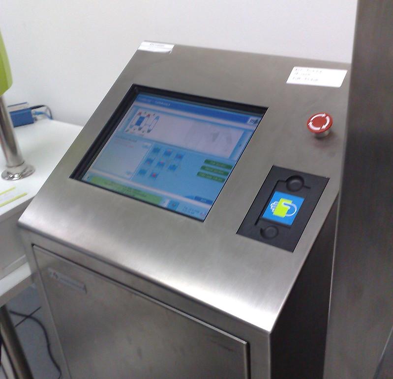 Myki test centre September 2009: Gate controller