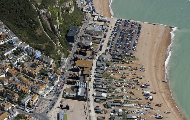 Hastings The Winch Road aerial image