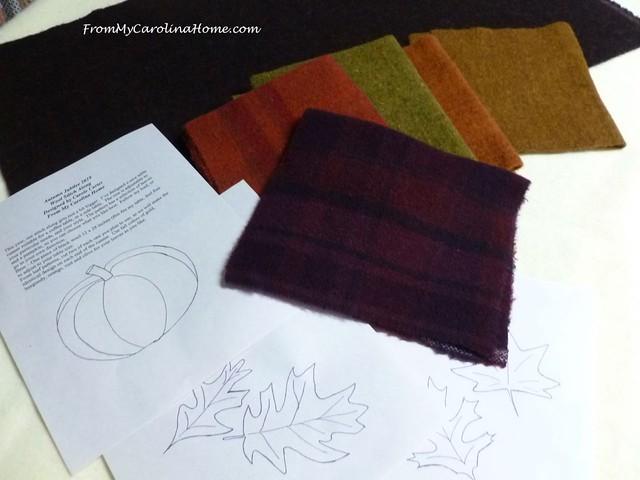 Autumn Jubilee Wool Stitch Along at FromMyCarolinaHome.com