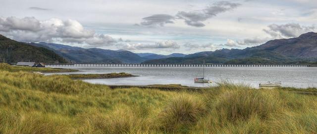 The Mawddach Estuary, North Wales