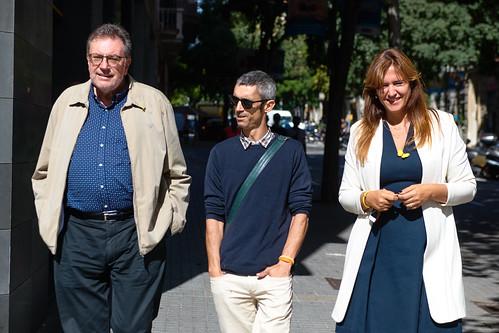 Roda de premsa de Laura Borràs i Roger Espanyol (3/10/2019)