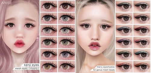 .ARISE. Kenji Eyes & Marry Eyeshadow