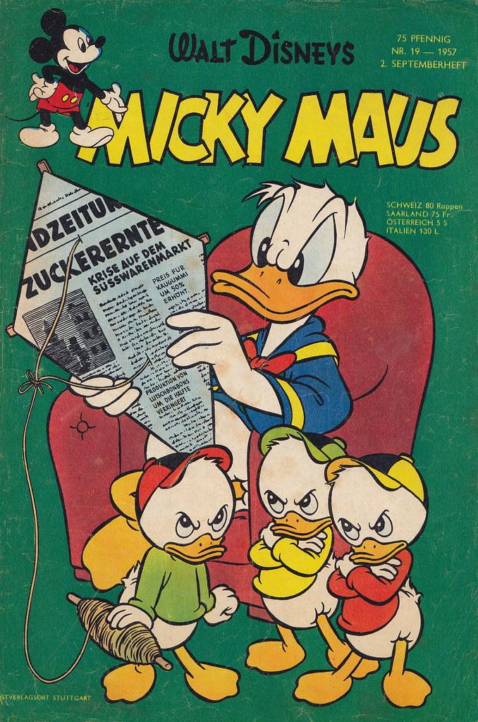 micky maus 191957  micky maus  heftreihe copyright
