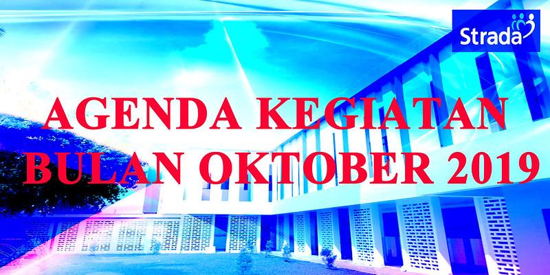 Agenda Kegiatan Sekolah Bulan Oktober 2019