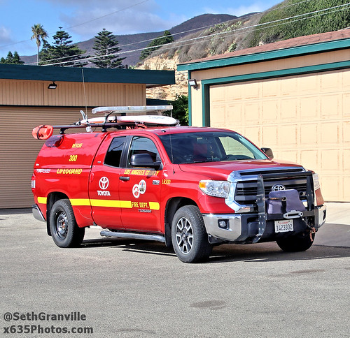 Los Angeles County Fire Department Lifeguard Rescue 300 Photo