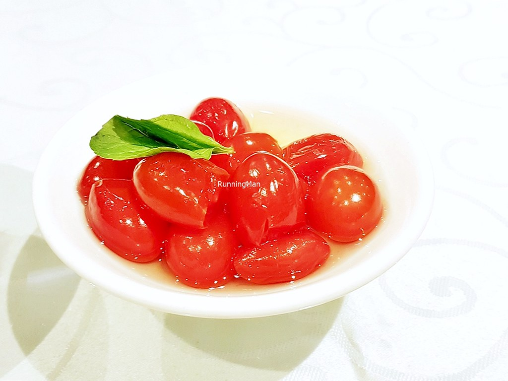 Cherry Tomatoes Infused With Sour Plum