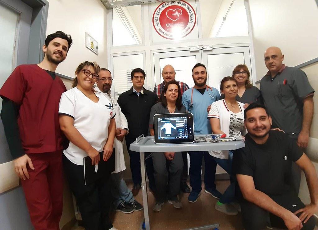 2019-10-03 Hospital Marcial Quiroga: El Marcial Quiroga adquirió tecnología única en el interior del país