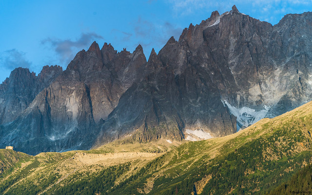 Chaîne  de montagne  Mont -blanc