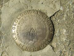 U.S.G.S. Bench Mark