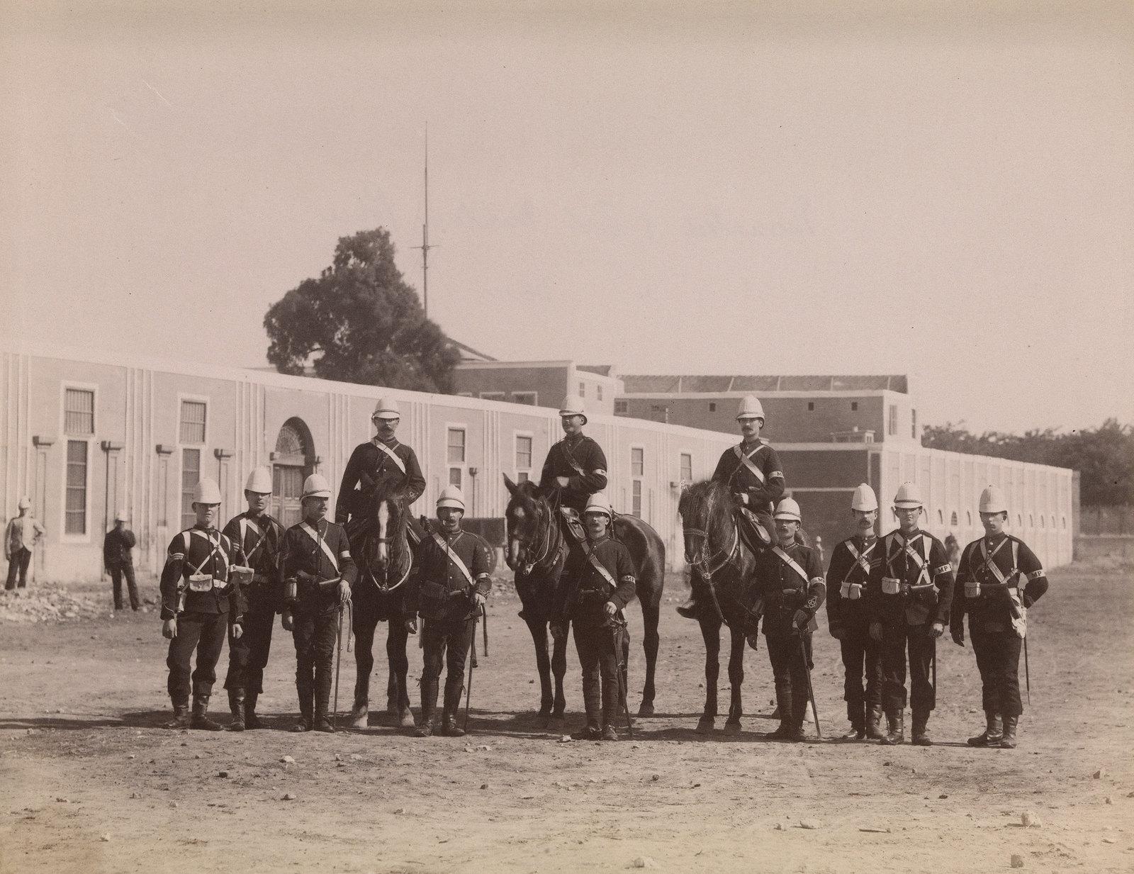 20. Военная полиция во время англо-египетской войны