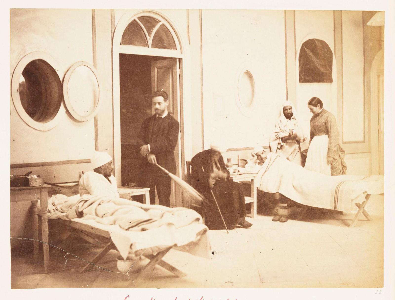 17. Госпиталь Леди Стренгфордс. Египтяне, раненные в Эт-Тель-эль-Кебире