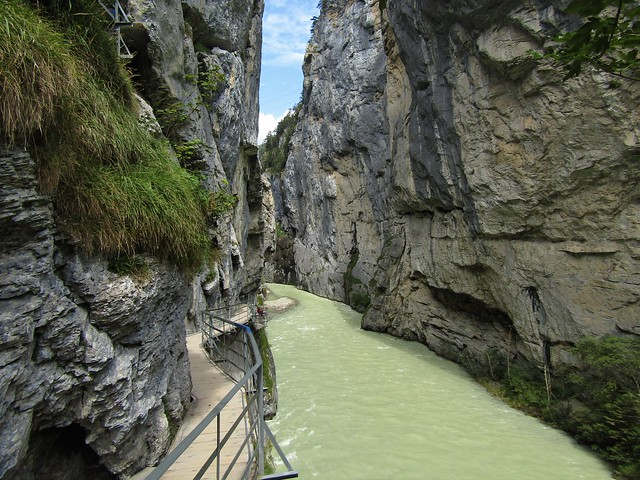 Aare Gorge: a Spectacular Alpine River Gorge