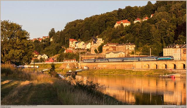 ČD 193 291-2 @ Königstein (Sächsische Schweiz)