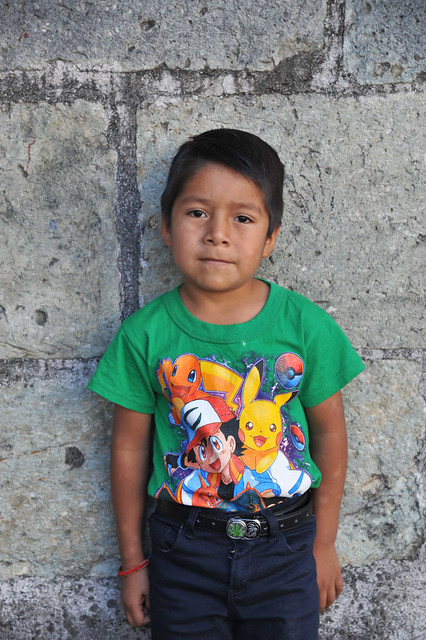 Portrait of a Boy Oaxaca Mexico