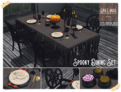 Spooky Dining Set CHEZ MOI