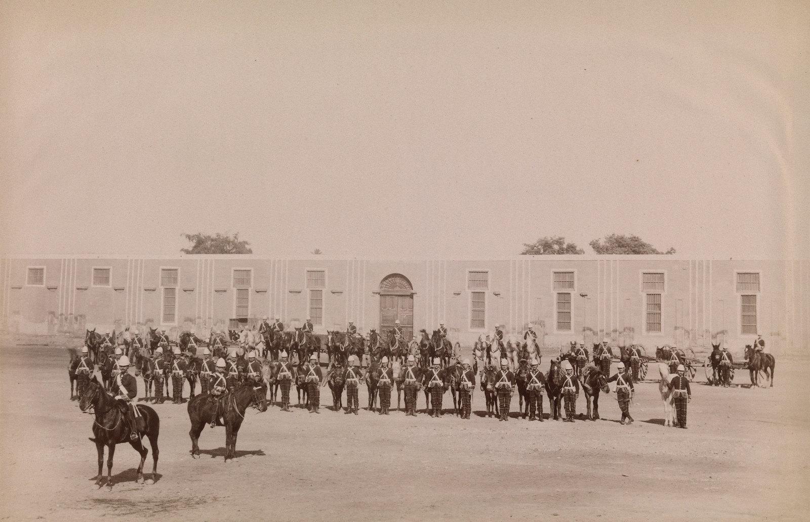 29. Солдаты из легкой пехоты, участвовавшие в англо-египетской войне