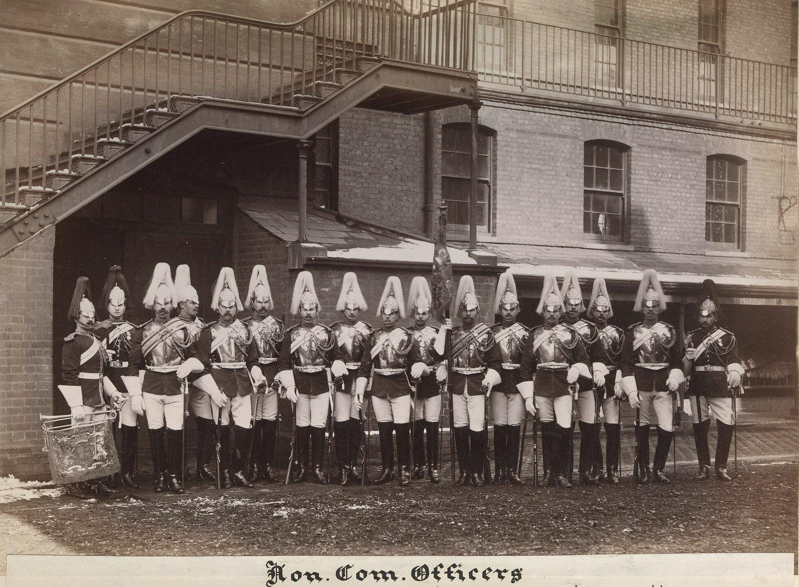 25. Унтер-офицеры из лейб-гвардии, которые служили в англо-египетской войне.