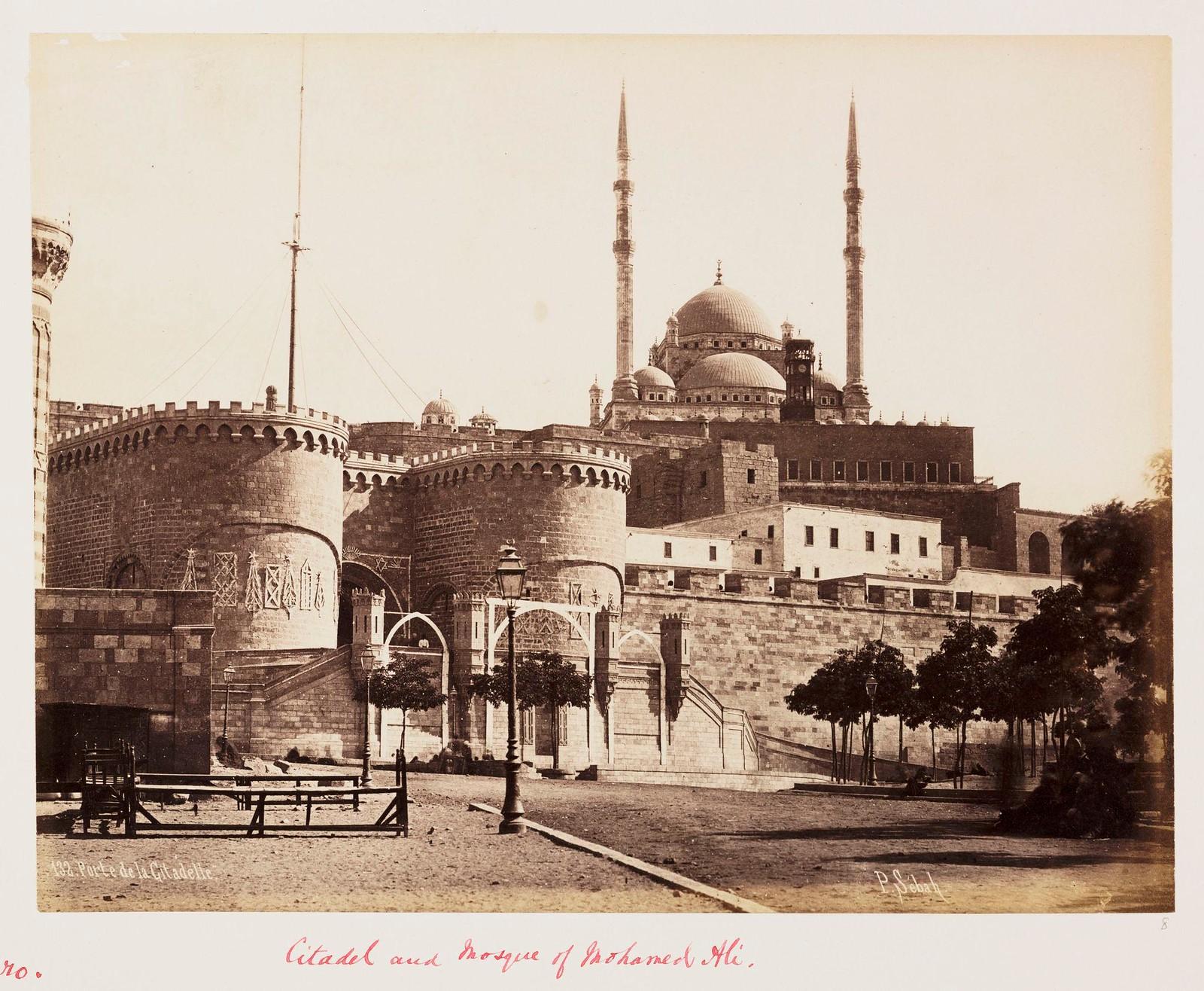 19. Цитадель и мечеть Мухаммеда Али в Каире, 1882