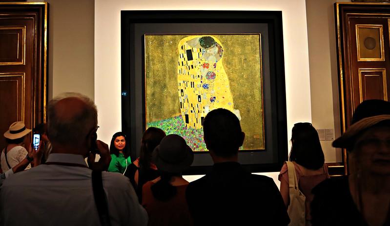 O Beijo, de Klimt