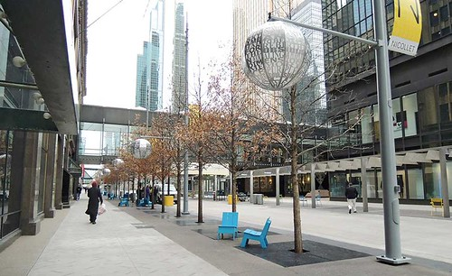 Nicollet Mall, Minnesota, after redesign