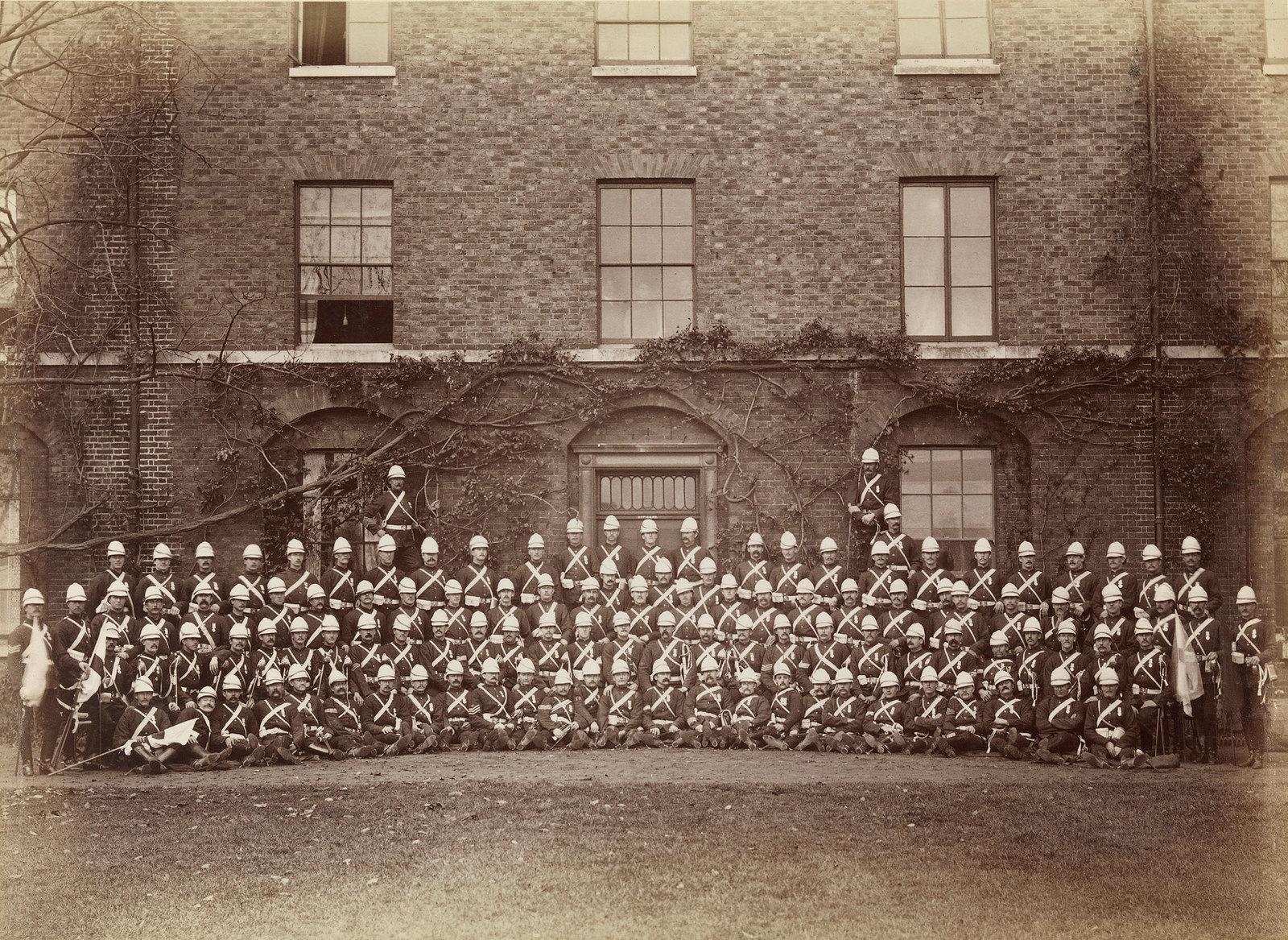 32. Эскадрон 2-го полка лейб-гвардии, служившего в англо-египетской войне