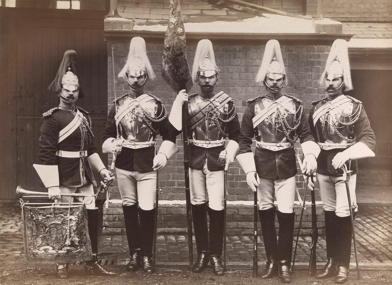 26. Унтер-офицеры из лейб-гвардии, которые служили в англо-египетской войне