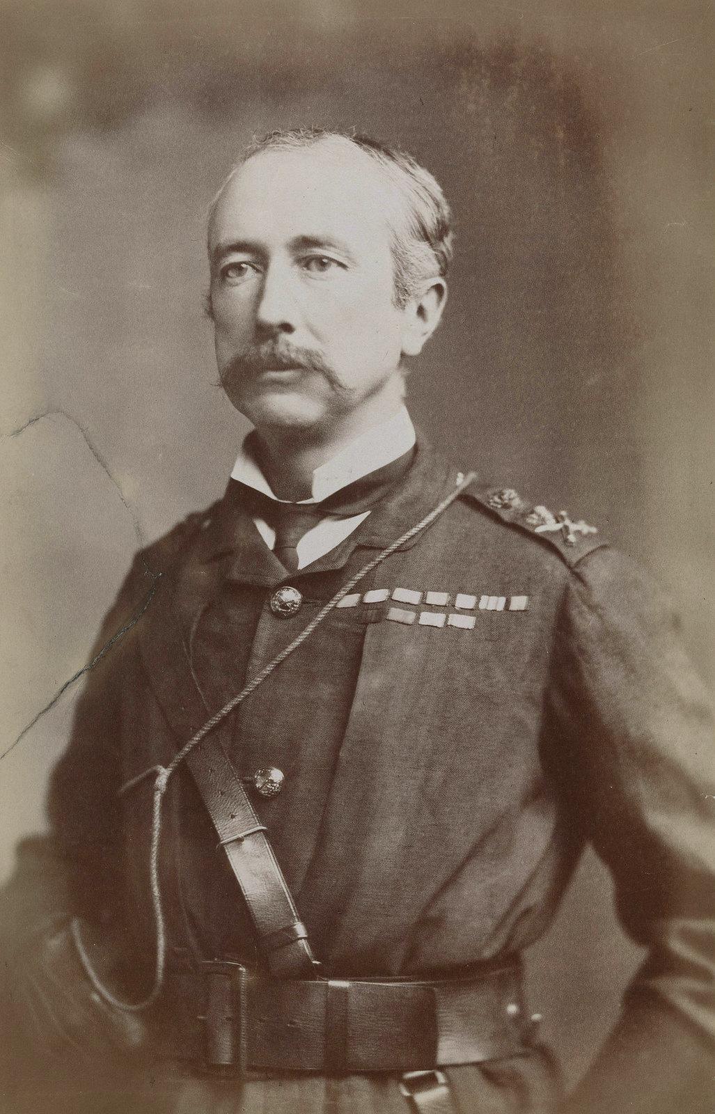 02. Фельдмаршал Гарнет Джозеф Вулзли, 1-й виконт Вулзли. Он командовал британскими войсками во время англо-египетской войны