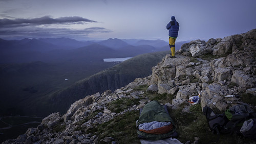 dusk bivvy site | by Scotland's Mountains
