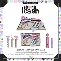 .:Short Leash:. Hentai Princess Toy Tray