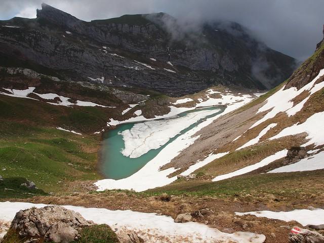 Bergwelt am Achensee, Tirol.