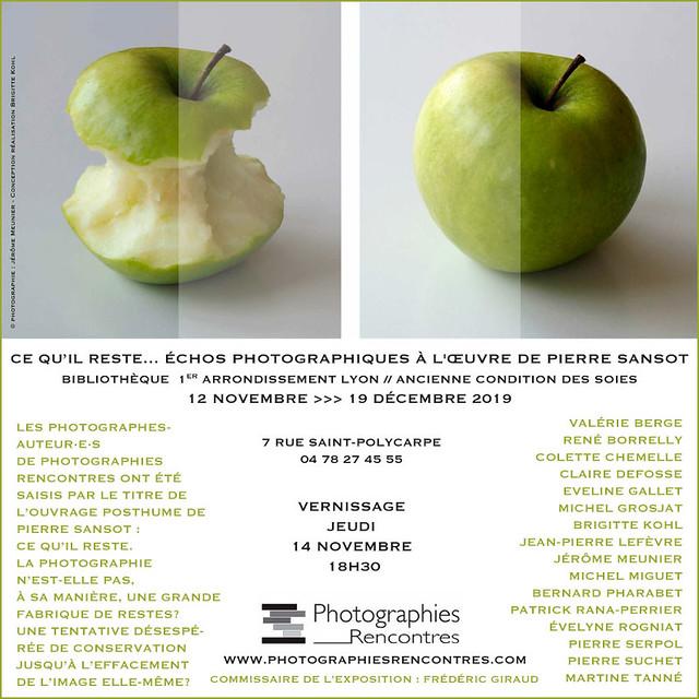 Ce qu'il reste – Echos photographiques à l'oeuvre de Pierre Sansot
