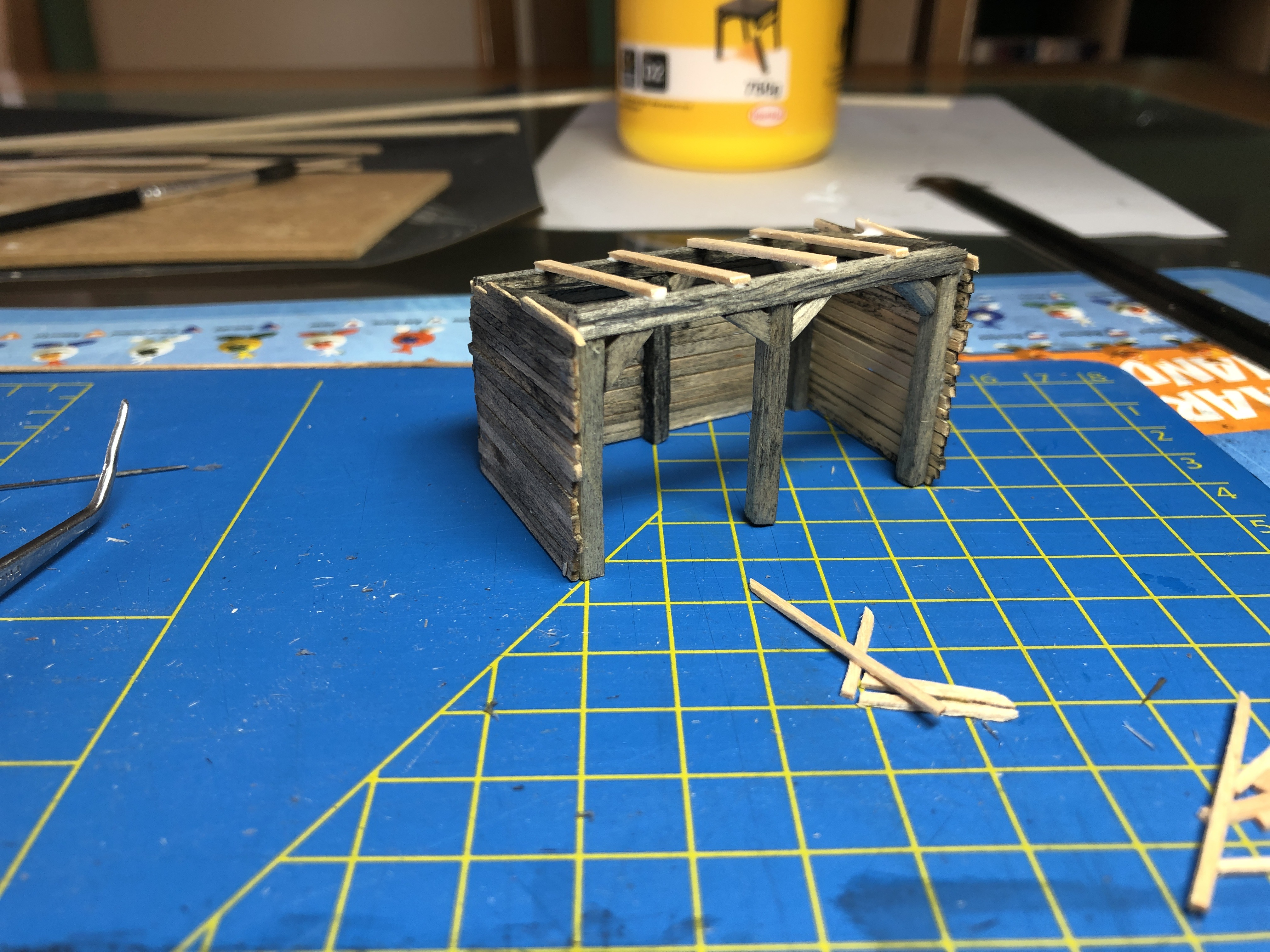 A one day project: Scratch build an animal shelter.