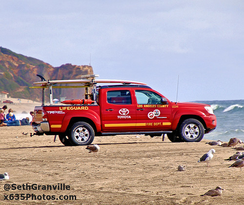 Los Angeles County Fire Department Lifeguard 341 Photo