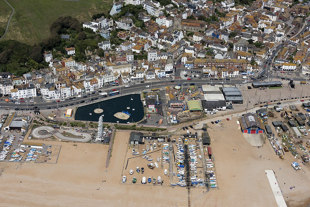 Hastings - East Sussex aerial image