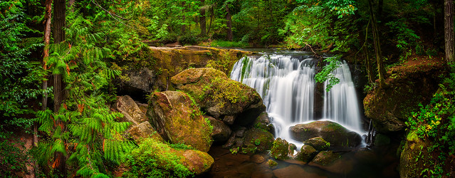 Whatcom Falls, Bellingham, Washington