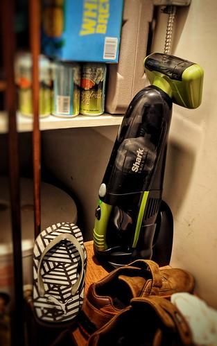 Charging a Hand Vacuum