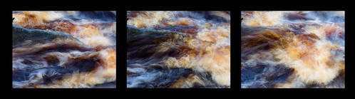Flowing Water Triptych