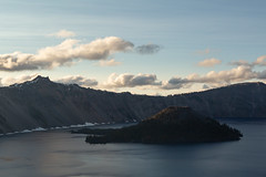 Evening Comes to Crater Lake