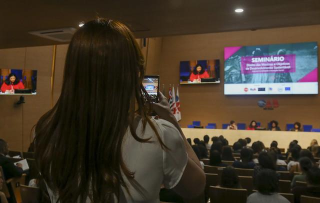 03.10.2019 - Seminário: Direito das Meninas e Objetivos de Desenvolvimento Sustentável – Internacionalidade e Inovação Social