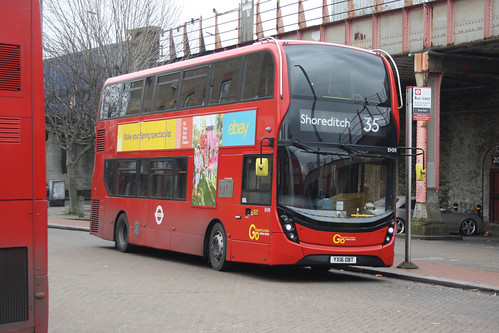 Go-Ahead London EH39 YX16OBT