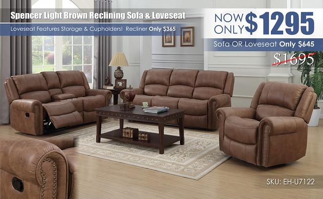 Spencer Light Brown Reclining Living Room Set_Update_U7122-00-05