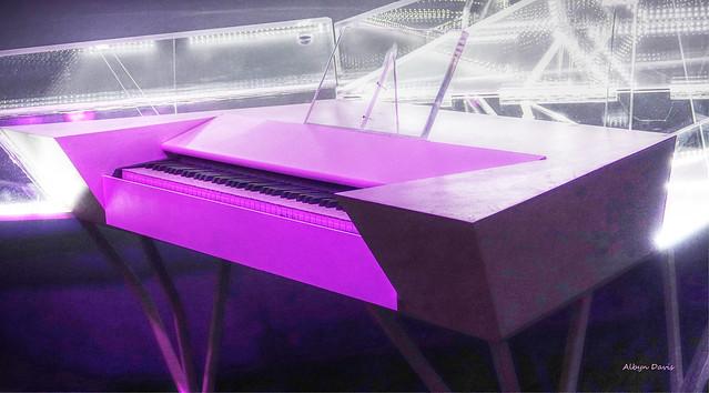 Lady Gaga's piano
