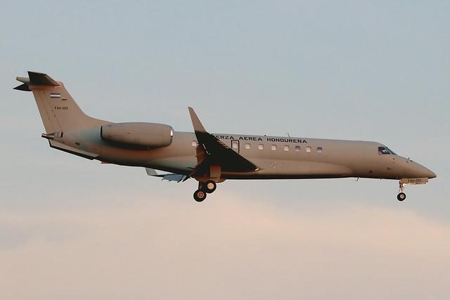 UN Week 2019: FAH-001   Embraer EMB-135BJ Legacy 600   Fuerza Aérea Hondureña (Honduran Air Force)