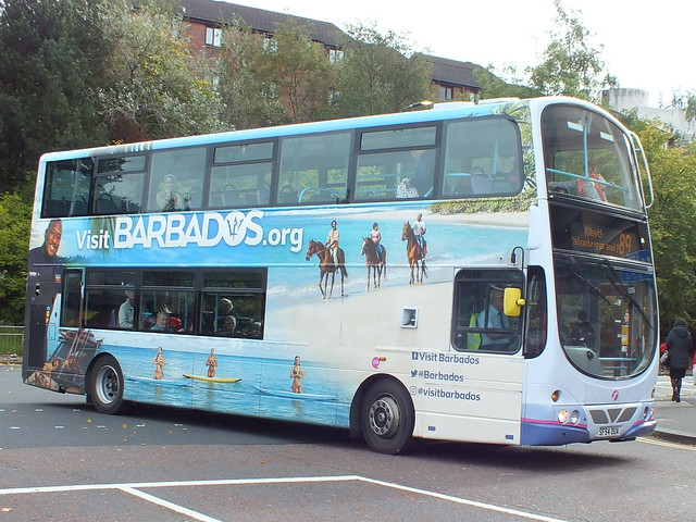 SF54OUA First Glasgow Gemini with a wrap for Barbados
