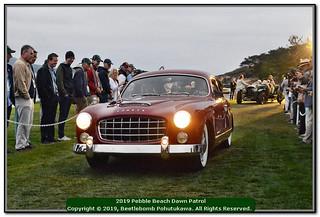 2019 Pebble Beach Dawn Patrol: Ford France Comete Monte-Carlo, carrosserie par Facel-Metallon