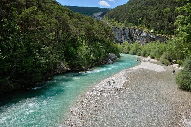 Le Verdon entre Castellane et Rougon