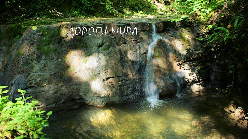 Водопад Девичьи Косы в Ольгинке
