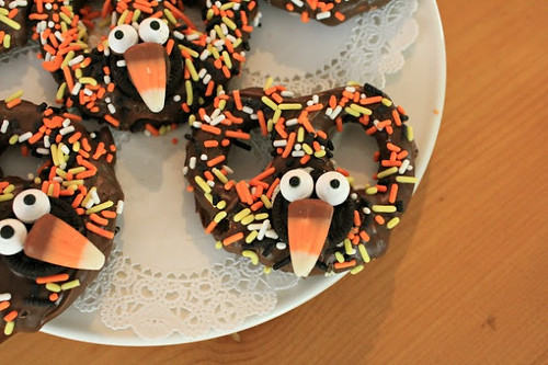 turkey chocolate pretzels